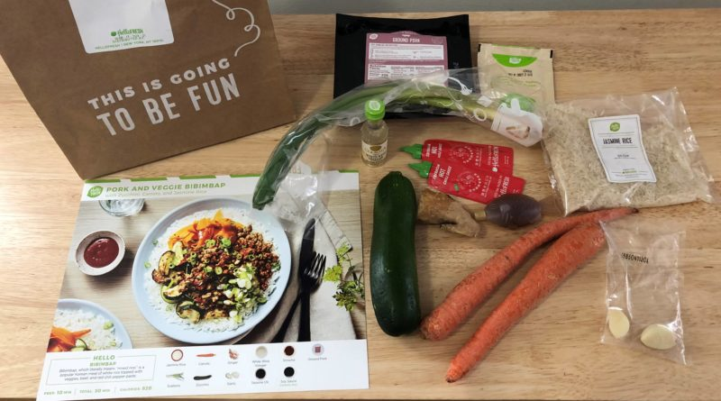 Meal Kit Delivery Service Inches Size